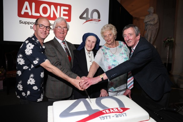 Repro Free: Dublin, 24th May 2017. ALONE, the charity that supports older people to age at home, celebrated its 40th anniversary at an event hosted by the Lord Mayor of Dublin Brendan Carr in City Hall, Dublin, on Tuesday evening. Picture Jason Clarke