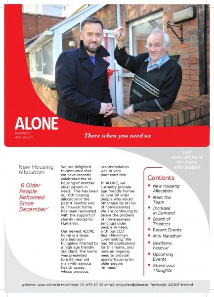 2013 ALONE Spring Newsletter